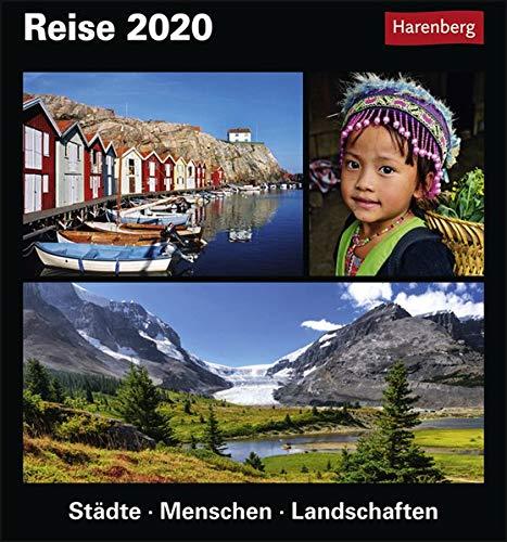 Reise Kulturkalender. Tischkalender 2020. Tageskalendarium. Blockkalender. Format 15,4 x 16,5 cm