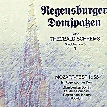 Mozart-Fest 1956 im Regensburger Dom