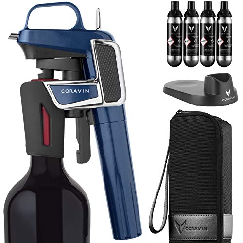 Coravin Model Two Elite Pro - Wine Preservation System, Midnight Blue