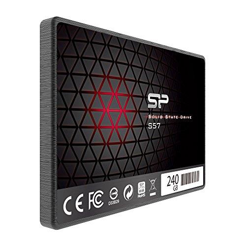 『シリコンパワー SSD 240GB TLC採用 Marvellコントローラー 2.5インチ 7mm SATA3 6Gb/s 3年保証 S57シリーズ SP240GBSS3S57A25』の2枚目の画像