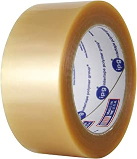 IPG 500 1.9Mil Central Medium Grade Natural Rubber Carton Sealing Tape, 48mm x 100m, Clear, (36-Pack)