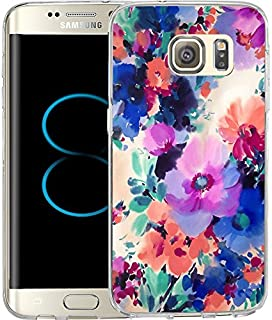 S8 Plus Case Ink painting style-Hundred Flowers blossom, LAACO Scratch Resistant TPU Gel Rubber Soft Skin Silicone Protective Case Cover for Samsung Galaxy S8 Plus