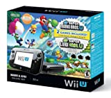 Nintendo Wii U Deluxe Set: Super Mario Bros U & Luigi U (32 GB) (Renewed)