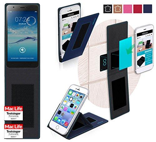 reboon Hülle für Jiayu S3 Tasche Cover Case Bumper | Blau | Testsieger