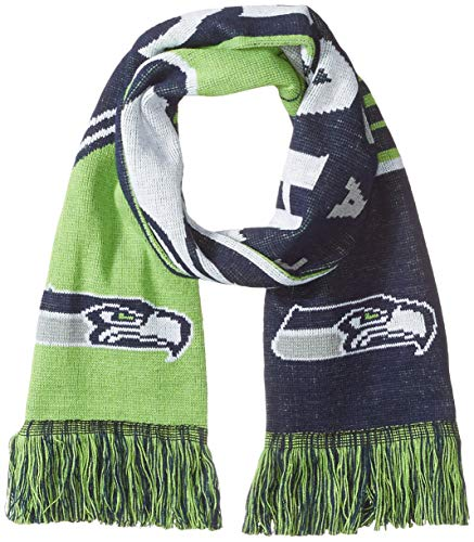 Seattle Seahawks Reversible Stripe Scarf