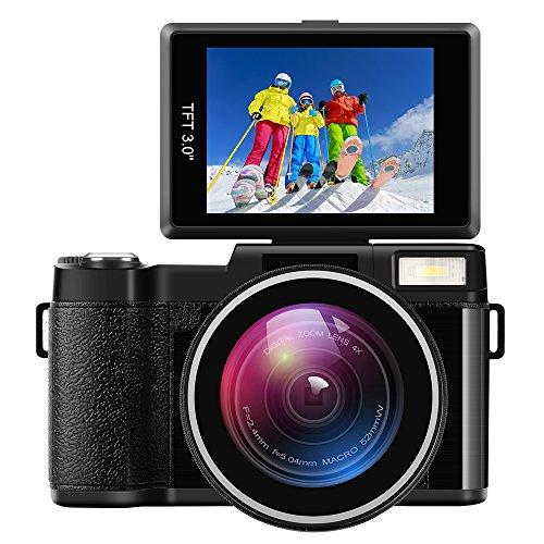 Digital Camera Camcorder Full HD Digital Video Camcorder 1080P 24.0MP...