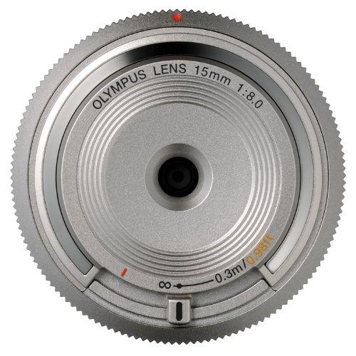 OLYMPUS ボディキャップレンズ マイクロフォーサーズ用 シルバー BCL-1580 SLV