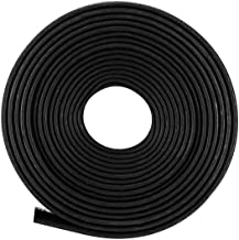 sourcingmap Heat Shrink Tube 2:1 Electrical Insulation Tube Wire Cable Tubing Sleeving Wrap Black 14mm Diameter 5m Length