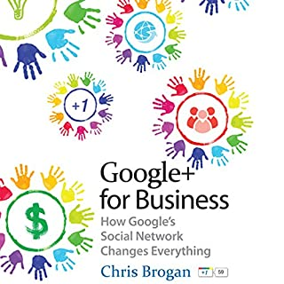 Google+ for Business audiobook cover art