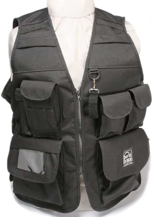Portabrace VV-XLH Video Vest with Hood - Extra Large