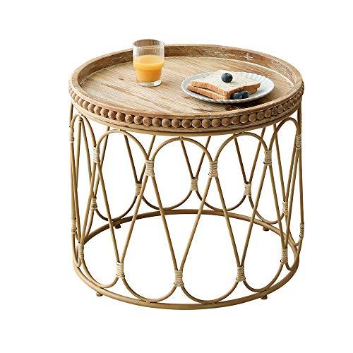 DYXYH Matériel: rotin Méthode d'installation: assemblage Style: nordique Matériau du rotin: rotin végétal Artisanat de finition: artisanat en bambou et en rotin Facile à nettoyer et résistant aux rayu