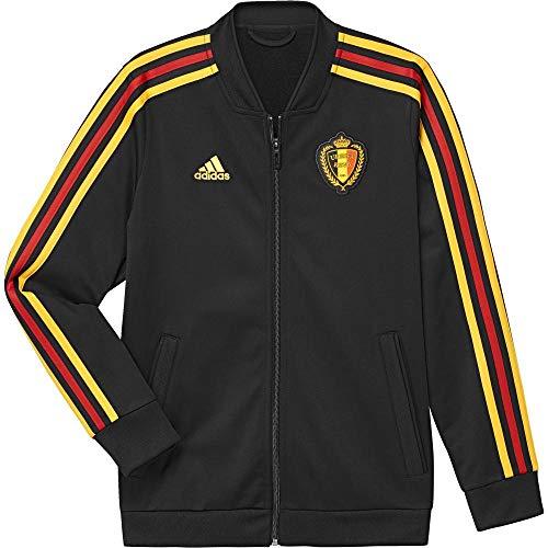 adidas Kinder Belgien Jacke, Black/Bogold, 152