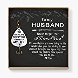 QUARTZILY Fishing Hook - Gift for Husband - You are The Greatest Catch of My Life (FH-001-WifHus)