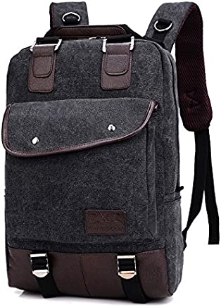 Stylish 14 Inch Casual Laptop Backpack Bag Colour Black- Ideal for School, Work, Traveling and Hiking