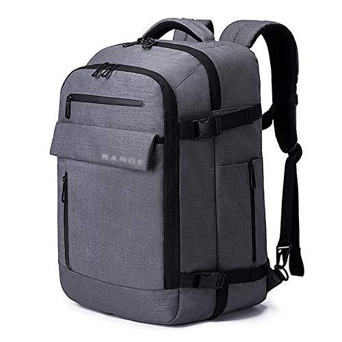 KJHGF Mochila para portátil de 17 pulgadas de gran capacidad, mochila para hombre, mochila de viaje multifuncional, mochila para viajes cortos, impermeable, mochila de embarque A