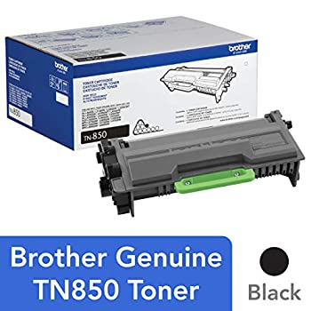 Brother Genuine High Yield Toner Cartridge TN850 Replacement Black Toner Page Yield Up To 8 000 Pages Amazon Dash Replenishment Cartridge