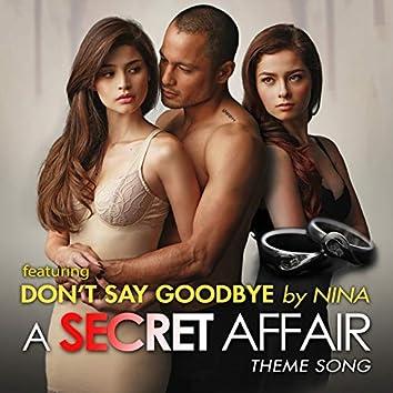 Don't Say Goodbye: A Secret Affair Theme Song