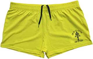 Slimbty Activewear Men's Running Gym Workout Shorts 95% Cotton and 5% Spandex