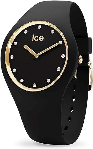 Ice Watch - Montre Ice Cosmos Swarovski Silicone Noir (016295)