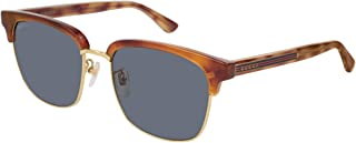 Gucci Men's Sunglasses Square GG0382S Havana/Blue