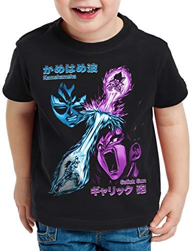 style3 Goku vs. Vegeta T-Shirt pour Enfants énergie Gallic Kamehameha Dragon Rayon Ball, Taille:140