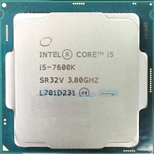 Intel Core I5 7600K I5-7600K 3.8GHz Quad-Core 6MB Cache TDP 91W 14 Nanometers Desktop LGA 1151 CPU Proces