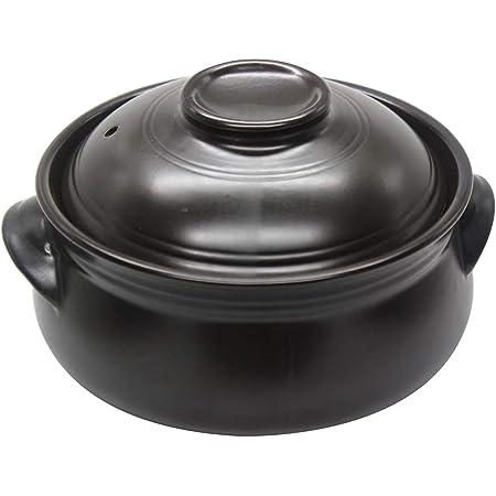 Korean Premium Ceramic Bowl with Lid, For Cooking Hot Pot Dolsot Bibimbap and Soup