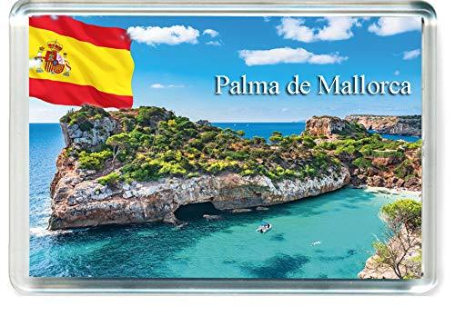 DreamGirl H294 Palma de Mallorca Imán para Nevera Spain Travel Fridge Magnet