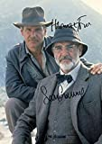 Harrison Ford & Sean Connery - Indiana Jones Autogramme