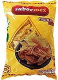 SABORMEX Nachos Totopos Fritos Triangular 200 gr Snack Mexicano Nachos para guacamole o para hacerlos con queso fundido Para Dipear en Salsas Mexicanas