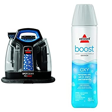 Cleaning Boost Bundle - SpotClean ProHeat Portable Spot Cleaner + Bissell Oxy Boost