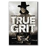 Xynfl Poster und Drucke True GRIT Movie Art Poster Leinwand
