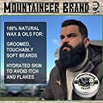 Heavy-Duty Beard Balm by Mountaineer Brand (2 oz)   Beard Tamer and Leave-in Conditioner   WV Timber Scent 4