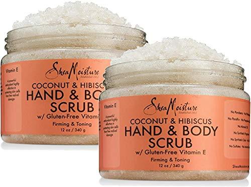Shea Moisture Coconut & Hibiscus Hand & Body Scrub