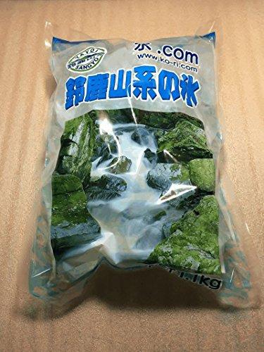 中粒 砕氷 クラッシュド・アイス 5cm前後 1.1kg 鈴鹿山系純氷 7袋