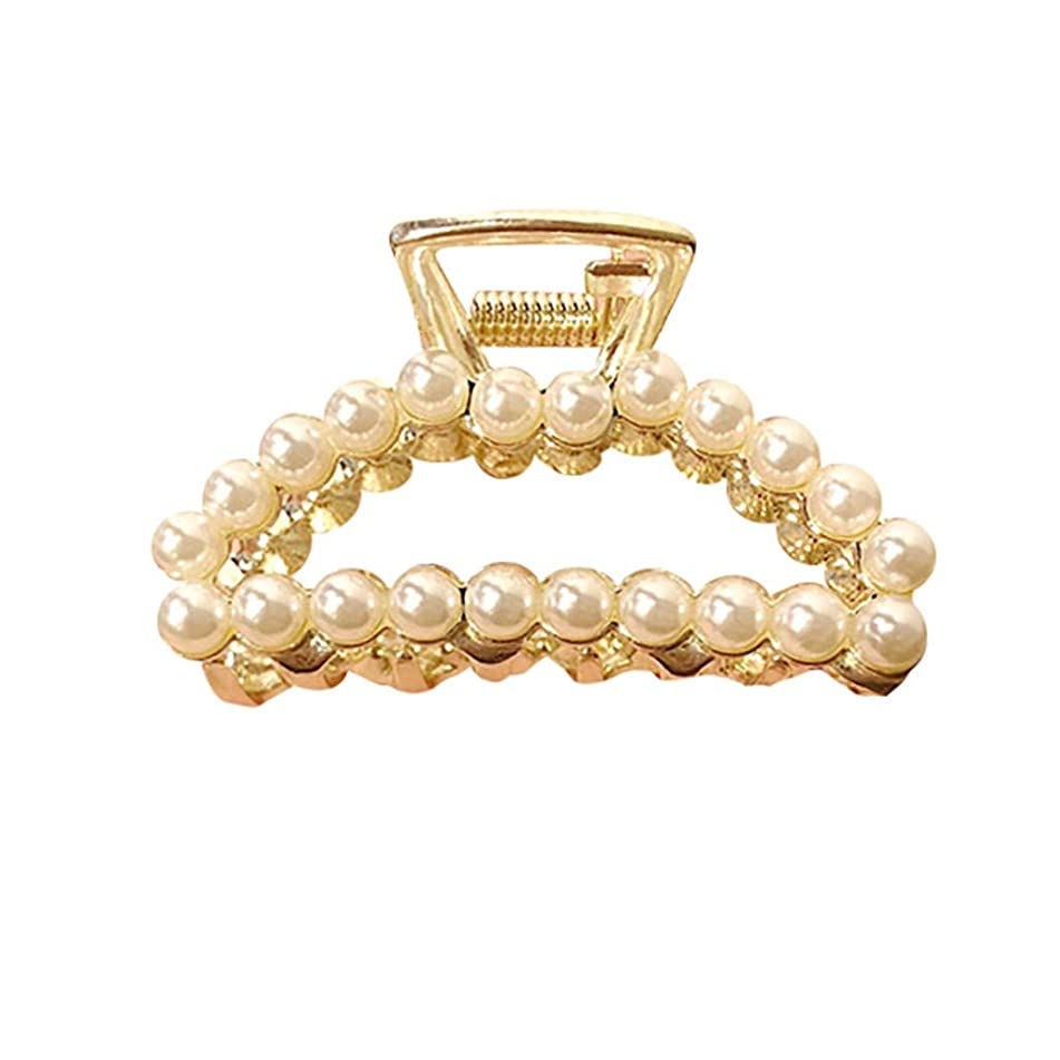 Tantisy ??? Ladies Hair Clip ? Fashion Wild Women's Pearl Diamond Claws Clamps Comb Accessory Beautiful Clamps