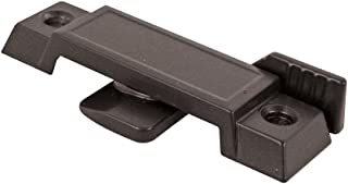 "Prime-Line F 2589 Sash Lock for Vertical and Horizontal Sliding Windows – Replace Broken Sash Locks for Additional Home Security, 2-1/4"" Mounting Hole Centers, Black Diecast"