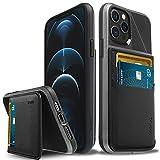 Vena Legacy Bloqueo RFID Anti-Robo Funda Cartera Compatible con Apple iPhone 12 / iPhone 12 Pro (6,1'-Inch), (Magsafe Compatible, 2 Ranuras para Tarjetas) Carcasa de Cuero Case con Función de Soporte