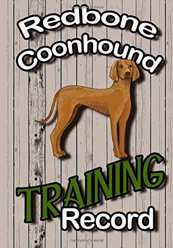 Redbone Coonhound Training Record: Dog Training Journal