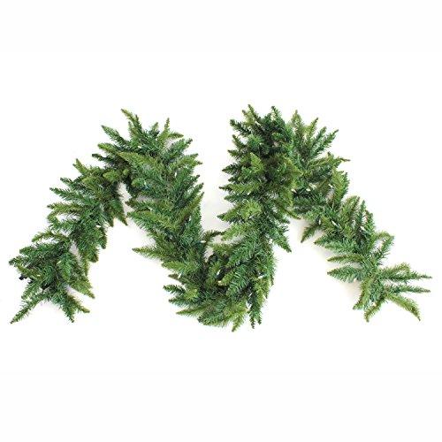 Perfect Holiday Christmas Garlands, Green, 9'