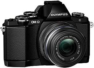 Olympus OM-D E-M10 Mirrorless Digital Camera with 14-42mm F3.5-5.6 Lens (Black)