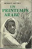 Un printemps arabe - Éditions albin michel