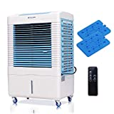 DUOLANG 2647 CFM Indoor Outdoor Portable Evaporative Air Cooler Swamp Cooler- Remote Control & 3...
