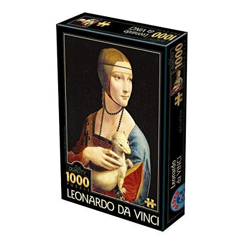 Unbekannt Toys 2–Puzzle 1000A D Leonardo da Vinci
