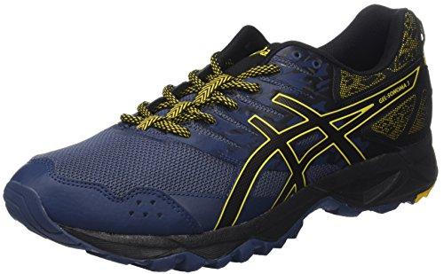 Asics T724N5090, Zapatillas de Running para Hombre, Azul (Insignia Blue / Black / Gold Fusion), 43.5 EU