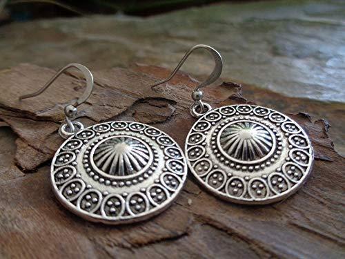 ❁ ORECCHINI MANDALA STRUTTURATI E ORNATI ❁ orecchini unici - regalo unico - fatti a mano, in stile etnico boho