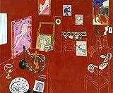 Henri Matisse - L'atelier rouge (The Red Studio) Museum of Modern Art - New York 30' x 24' Wall Art Giclee Canvas Print (Unframed)