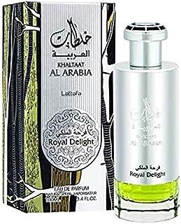 Lattafa Khaltat Alarabia Royal Delight Men's Eau de Parfum, 100 ml