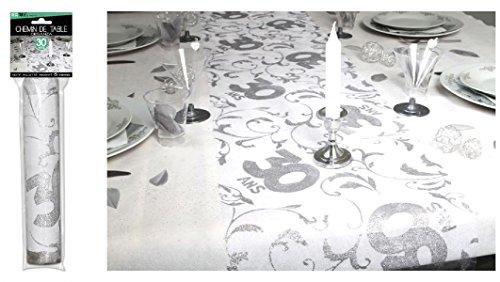 Surprisez vous - Chemin de table 30 ans - 28 cm x 5 m