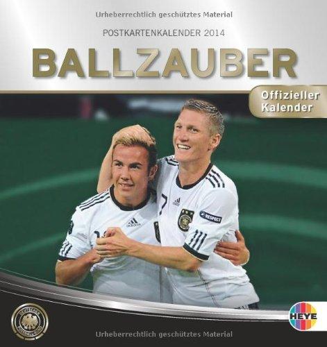 Ballzauber DFB Postkartenkalender 2014